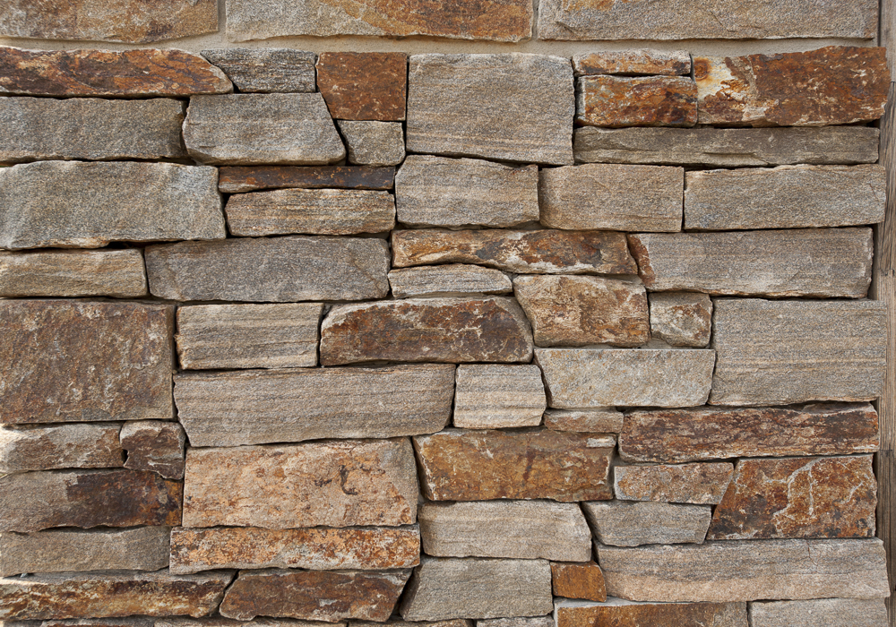 Mixed brown (ledgestone)