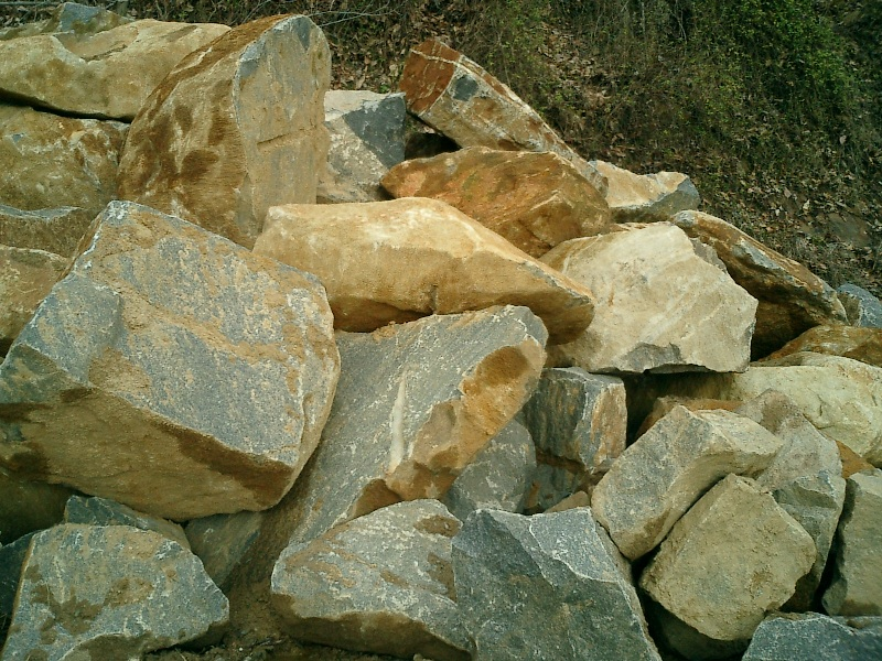 Wilmington Granite Boulders